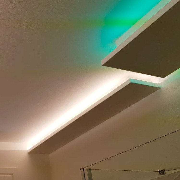 Bagno luce verde
