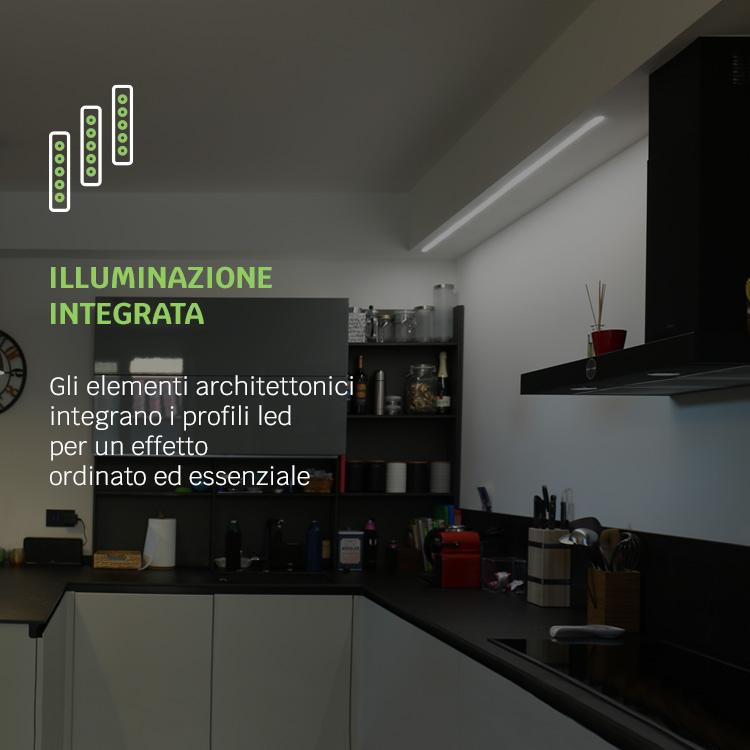 illuminazione integrata