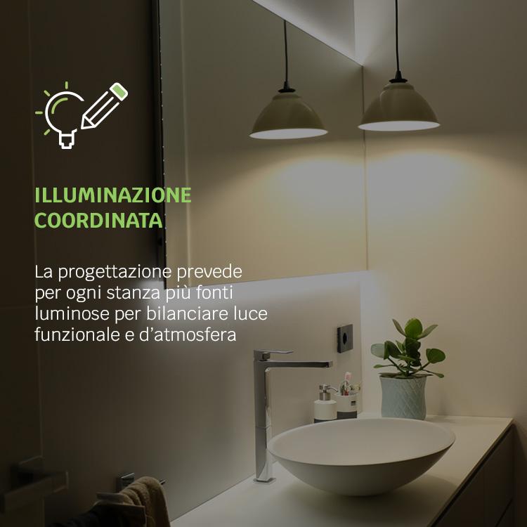 illuminazione coordinata